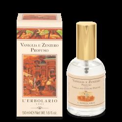 Parfum Vanille et Gingembre...